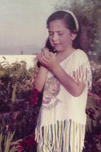 Con 4 años y un gorrión